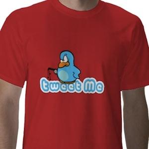 Tweet me with a sm kinda bird t-shirt