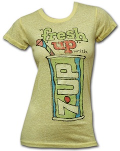 Vintage looking 7UP t-shirt