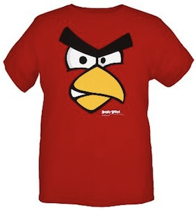 Red Angry Bird T-Shirt