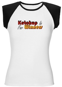 Great Tshirt for Ketchup lovers all over the world