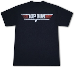 Top Gun Dark Logo T-Shirt