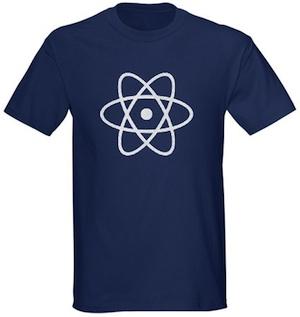 Just an atom on a t-shirt