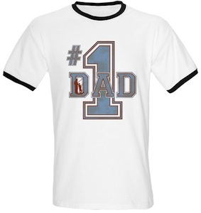 Fathers Day #1 Dad T-Shirt