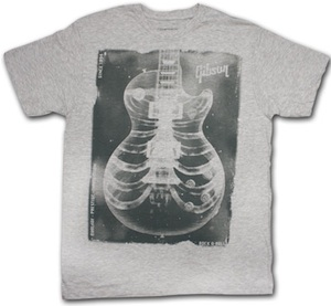 Gibson X-ray guitar t-shirt