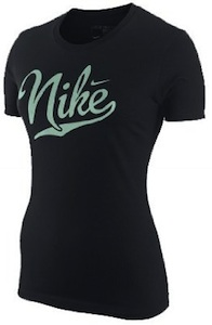 Black Nike t-shirt for women