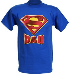 Fathersday superman dad t-shirt