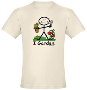 I Garden T-Shirt made of organic cotton