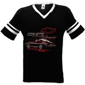 A 1963 chevy corvette stingray t-shirt