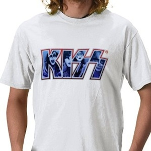 A KISS t-shirt Gene Simons would be happy to wear