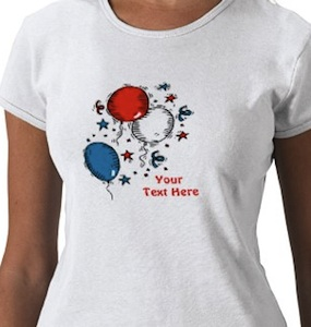 Balloon party t-shirt