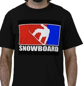 Snowboards t-shirt