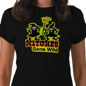 Halloween Witches gone wild t-shirt