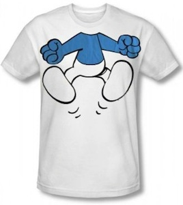 The smurfs body t-shirt