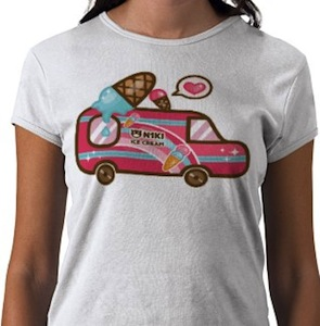 Ice Cream Truck cute t-shrit