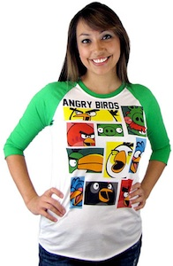 Angry Birds Baseball t-shirt