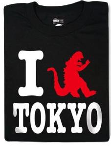 i Gozilla tokyo t-shirt