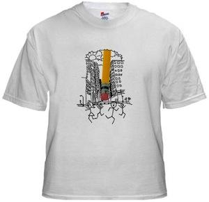 Stickman worst nightmare t-shirt
