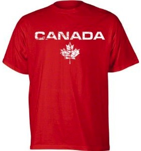 red canada t-shirt