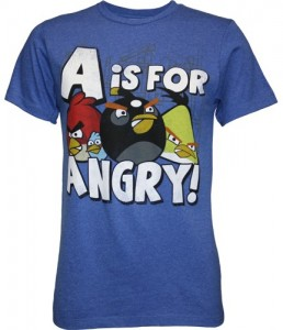 Angry Birds A Is For Angry