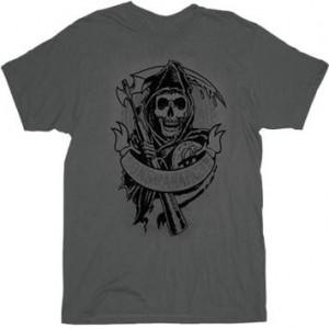 Sons Of Anarchy Velvet Logo T-Shirt