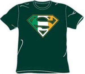 Irish Superman Logo T-Shirt