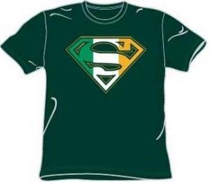 Irish Superman Logo T-Shirt