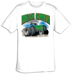 Mean Green Tractor T-Shirt.