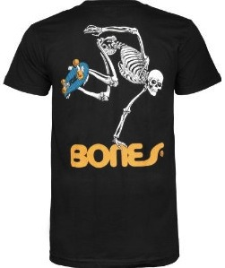 fun Skateboard Skeleton t-shirt