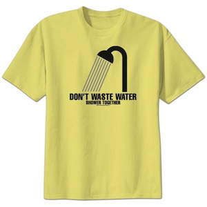 Don't Waste Water Shower Together t-shirt