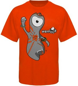 Kids London 2012 Olympics Wenlock T-Shirt