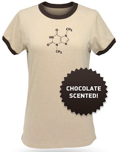 Chocolate scented babydoll t-shirt