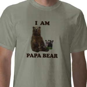 I am Papa Bear t-shirt
