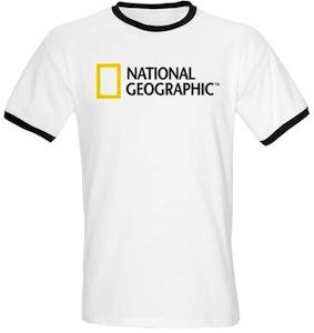 National Geographic Logo T-Shirt