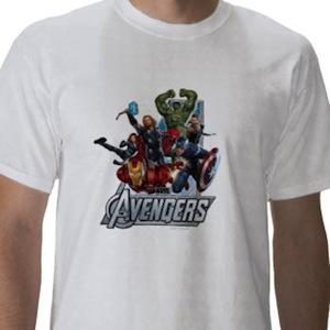 Marvel the Avengers Heroes t-shirt
