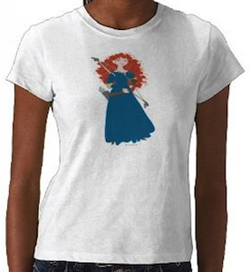 Brave t-shirt with Merida