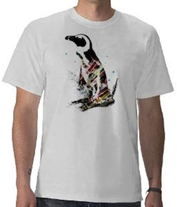 Light Penguin t-shirt