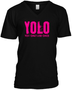 YOLO description t-shirt