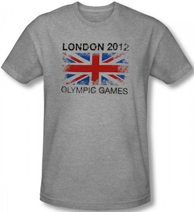 London 2012 Olympic Games Union Jack T-Shirt