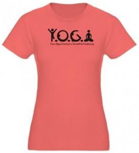 Y.O.G.A. T-Shirt.