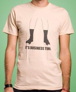 Flight of the Conchords Business Time Funny T Shirt