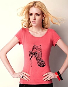 High Heel Shoe T-Shirt