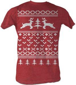 Reindeer Christmas Sweater T-Shirt