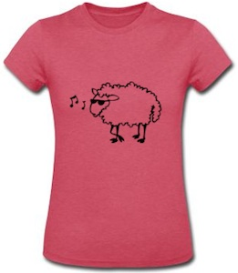 Sheep With Sunglasses T-Shirt