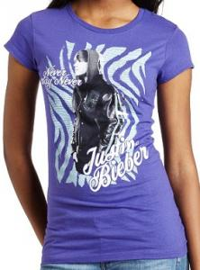 Justin Bieber Never Say Never T-Shirt