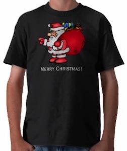 Santa and Toys t-shirt