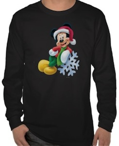 Mickey Mouse And The Snowflake T-Shirt