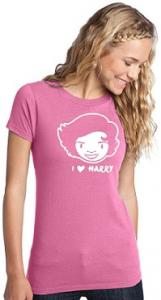 One Direction Harry Styles I Love Harry T-Shirt