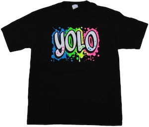 Colorful YOLO T-Shirt