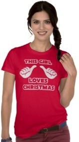 This Girl Loves Christmas T-Shirt