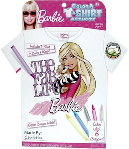 Barbie Color A T-Shirt